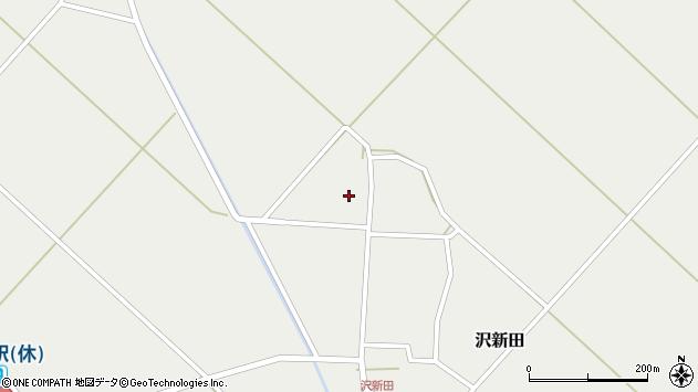 山形県東田川郡庄内町沢新田錆153周辺の地図
