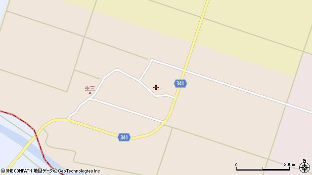 山形県東田川郡庄内町生三奥沼田59周辺の地図