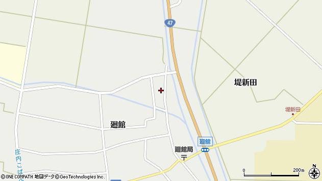 山形県東田川郡庄内町廻館岡崎7周辺の地図