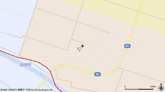 山形県東田川郡庄内町生三上川前16周辺の地図