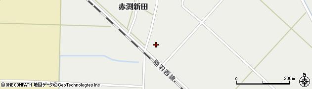 山形県東田川郡庄内町赤渕新田藤原台18周辺の地図