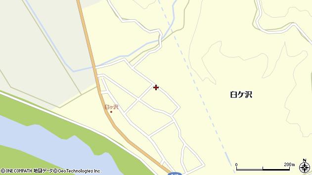 山形県酒田市臼ケ沢池田通99周辺の地図
