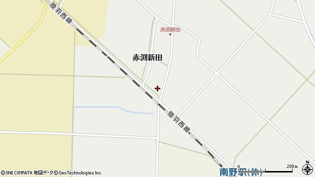 山形県東田川郡庄内町赤渕新田藤原台13周辺の地図