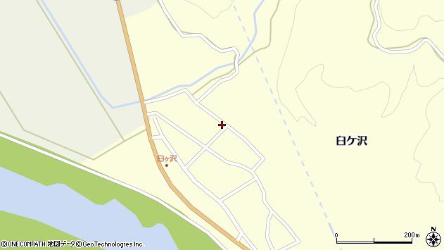 山形県酒田市臼ケ沢池田通97周辺の地図