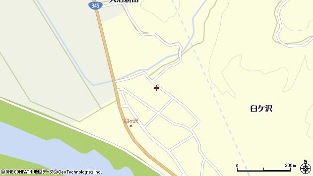 山形県酒田市臼ケ沢池田通89周辺の地図