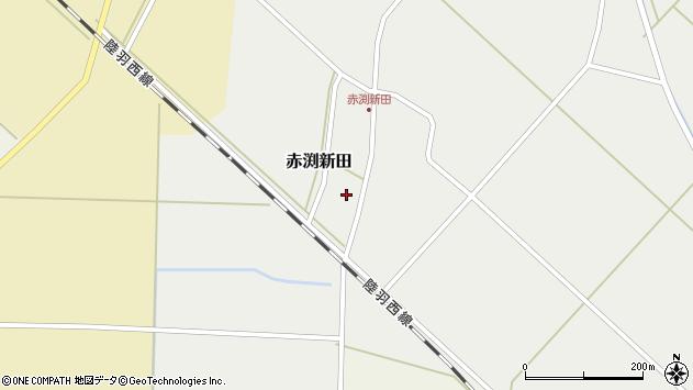 山形県東田川郡庄内町赤渕新田藤原台27周辺の地図