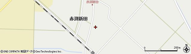 山形県東田川郡庄内町赤渕新田藤原台38周辺の地図