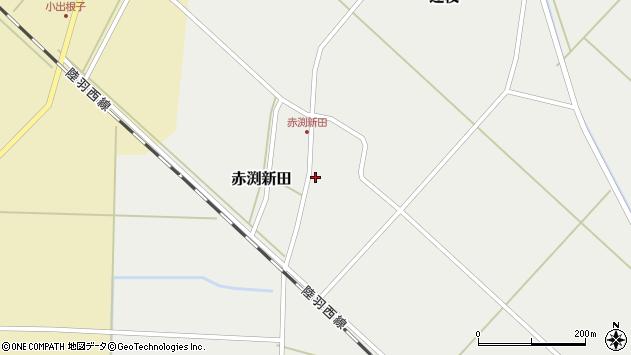 山形県東田川郡庄内町赤渕新田藤原台39周辺の地図