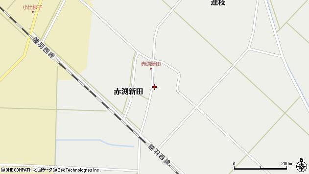 山形県東田川郡庄内町赤渕新田藤原台37周辺の地図