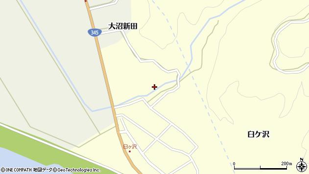 山形県酒田市臼ケ沢内畑6周辺の地図