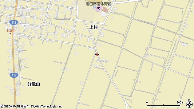 山形県酒田市浜中村東1138周辺の地図