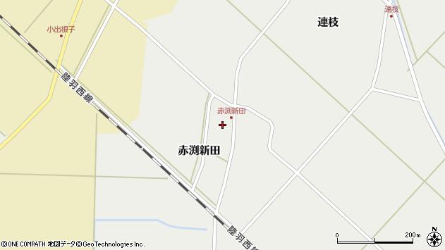 山形県東田川郡庄内町赤渕新田藤原台24周辺の地図