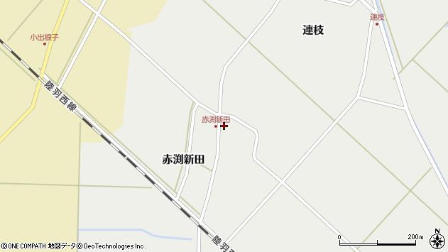 山形県東田川郡庄内町赤渕新田藤原台52周辺の地図