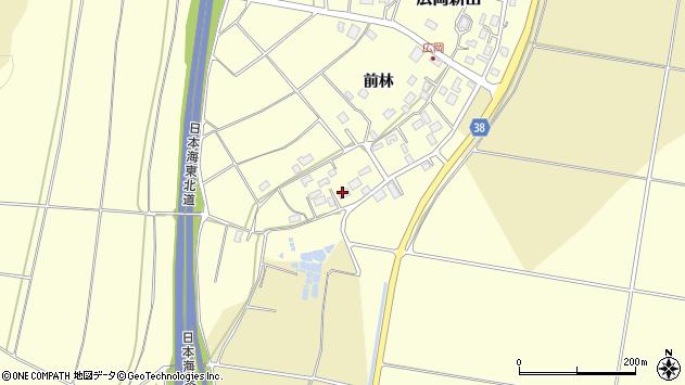 山形県酒田市広岡新田498周辺の地図