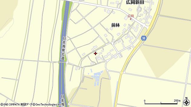 山形県酒田市広岡新田501周辺の地図