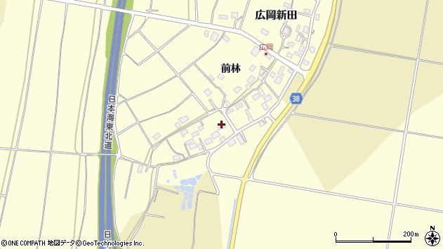 山形県酒田市広岡新田495周辺の地図