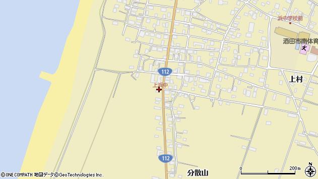 山形県酒田市浜中丙周辺の地図