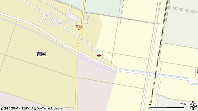山形県東田川郡庄内町吉岡上南1周辺の地図