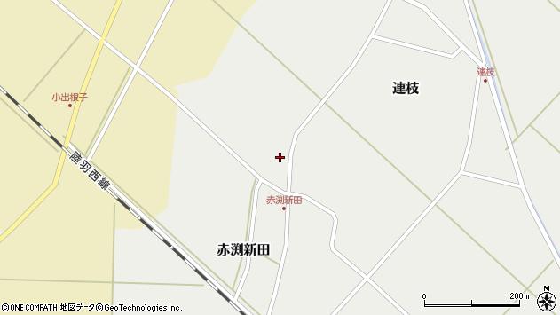 山形県東田川郡庄内町連枝藤原周辺の地図
