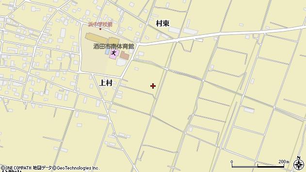 山形県酒田市浜中村東1264周辺の地図