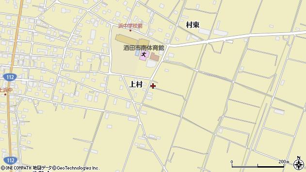山形県酒田市浜中村東1226周辺の地図