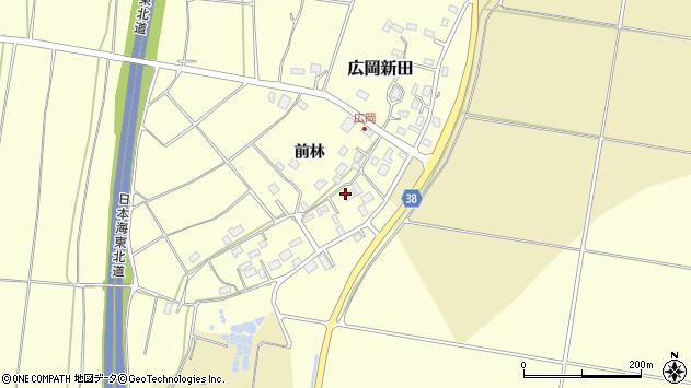 山形県酒田市広岡新田前林487周辺の地図