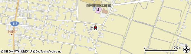 山形県酒田市浜中上村383周辺の地図