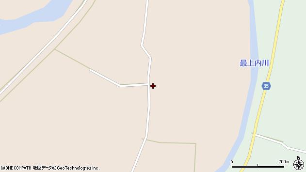 山形県最上郡鮭川村庭月142周辺の地図