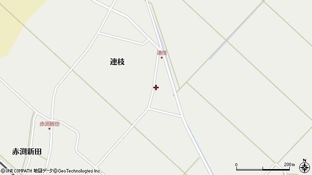 山形県東田川郡庄内町連枝沼端3周辺の地図