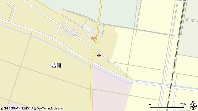 山形県東田川郡庄内町吉岡上南9周辺の地図