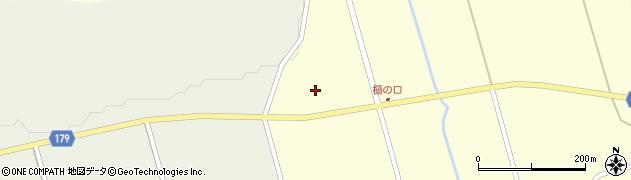 宮城県栗原市栗駒稲屋敷百目木前周辺の地図