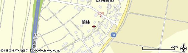 山形県酒田市広岡新田484周辺の地図