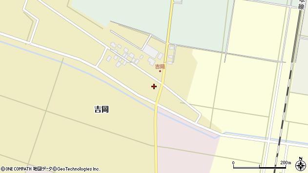 山形県東田川郡庄内町吉岡上南14周辺の地図