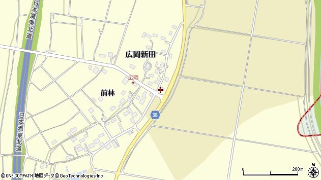 山形県酒田市広岡新田473周辺の地図