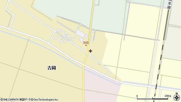 山形県東田川郡庄内町吉岡東北裏2周辺の地図