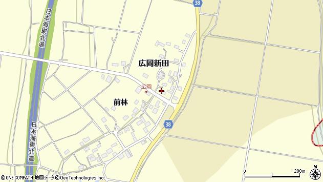 山形県酒田市広岡新田474周辺の地図