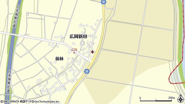山形県酒田市広岡新田472周辺の地図