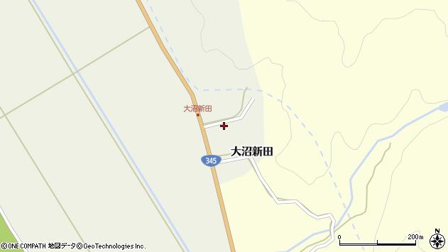 山形県酒田市大沼新田内畑周辺の地図