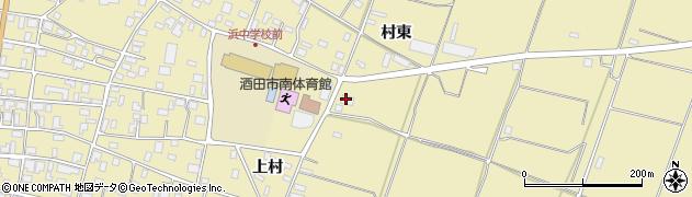 山形県酒田市浜中村東1309周辺の地図