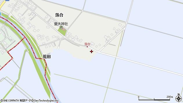 山形県東田川郡庄内町落合落合3周辺の地図