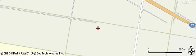 山形県東田川郡庄内町余目新田前田周辺の地図