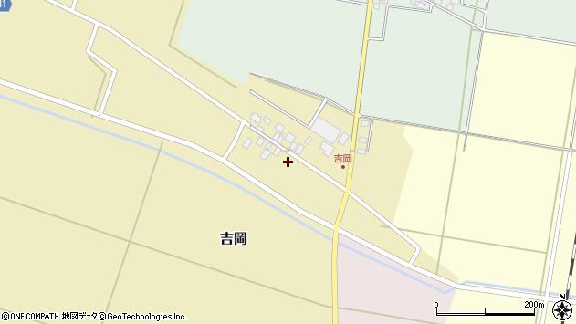 山形県東田川郡庄内町吉岡上南32周辺の地図