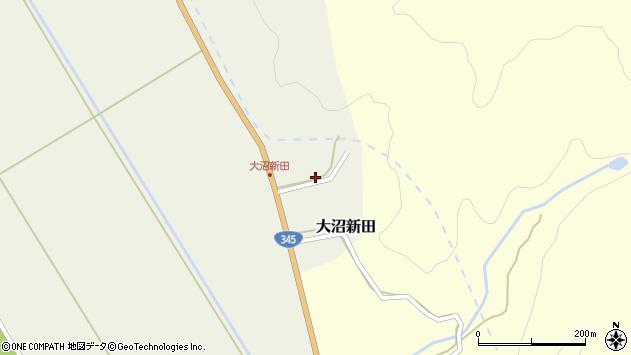 山形県酒田市大沼新田内畑40周辺の地図