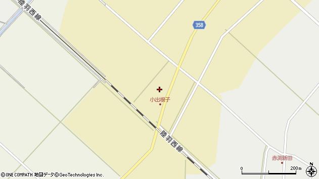 山形県東田川郡庄内町小出新田大谷地3周辺の地図