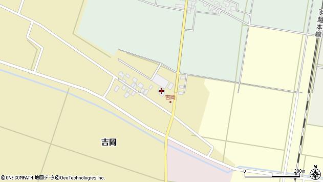 山形県東田川郡庄内町吉岡東北裏14周辺の地図
