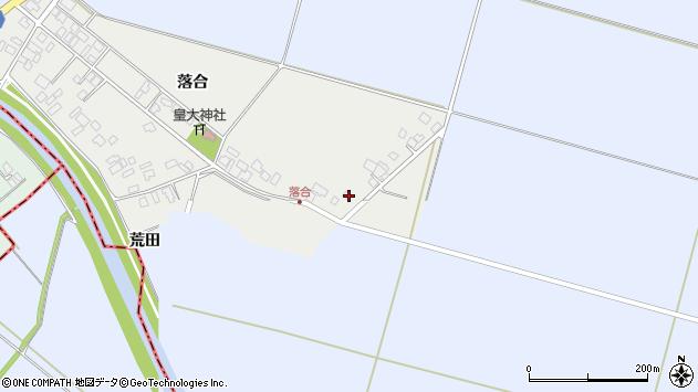 山形県東田川郡庄内町落合落合11周辺の地図