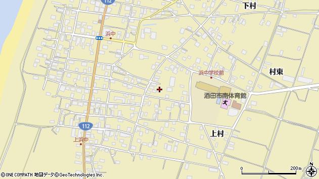 山形県酒田市浜中上村228周辺の地図
