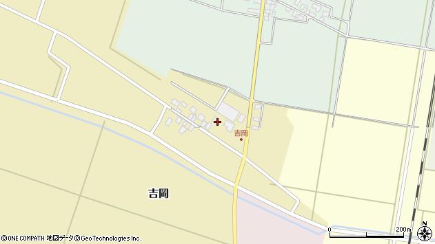 山形県東田川郡庄内町吉岡東北裏周辺の地図