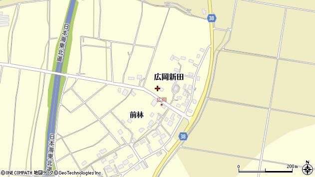 山形県酒田市広岡新田469周辺の地図