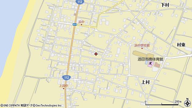 山形県酒田市浜中上村253周辺の地図